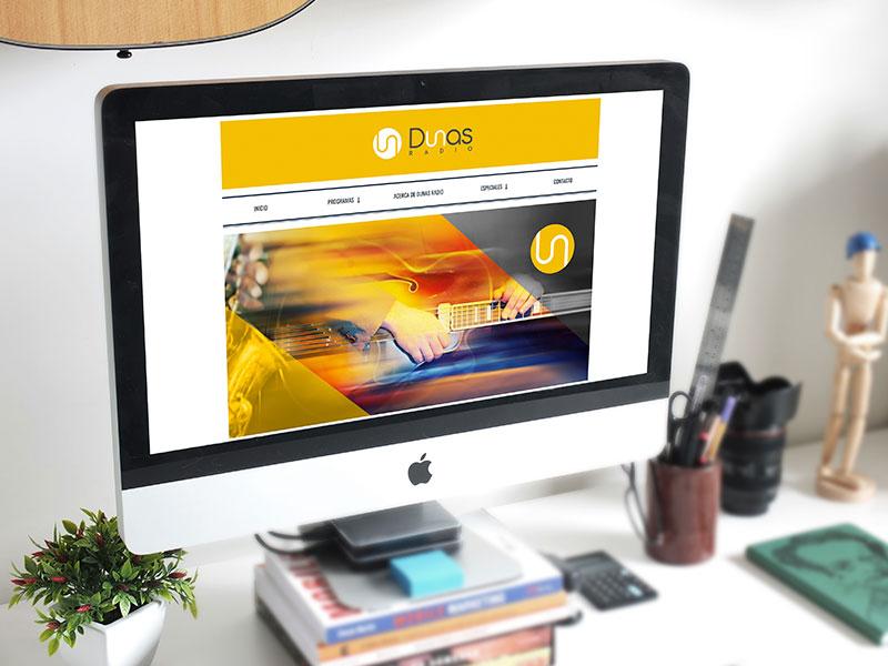 Radio Dunas Website