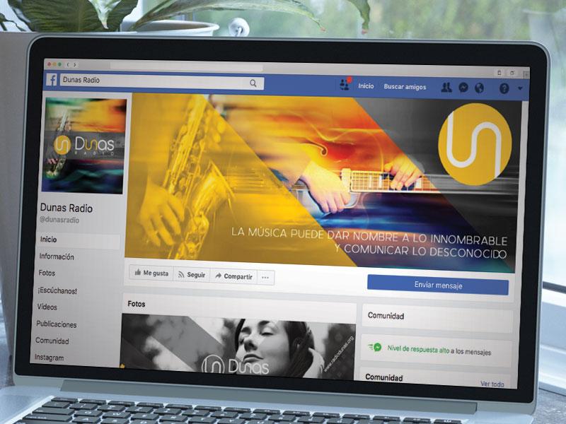 Redes Sociales Dunas Radio